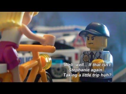 Lego Friends Party Train -  Stopmotion - Surprise Party Fail