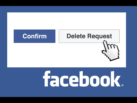 facebook - what happens when you delete friend request