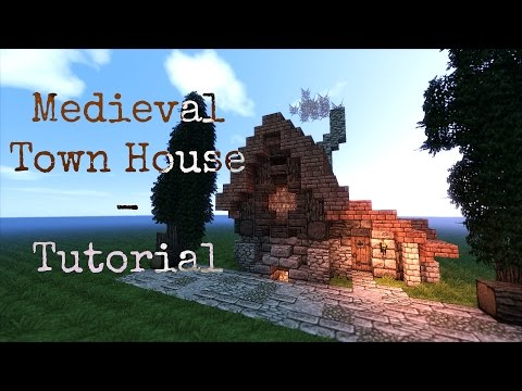 Minecraft Tutorial - Small Medieval Townhouse