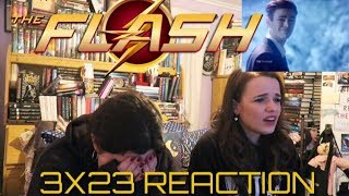 """THE FLASH 3X23 """"THE FINISH LINE"""" REACTION"""