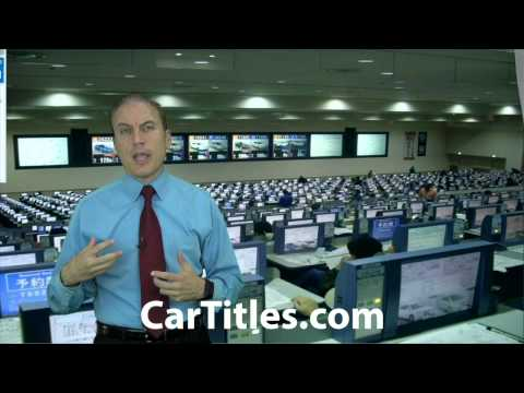 How do you find a lien on a vehicle title?   AFX