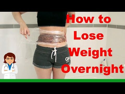 How To Lose Weight OVERNIGHT FAST! DIY Body Wrap! READ DESCRIPTION BEFORE TRYING