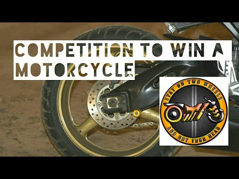 Motorcycle giveaway for Easter