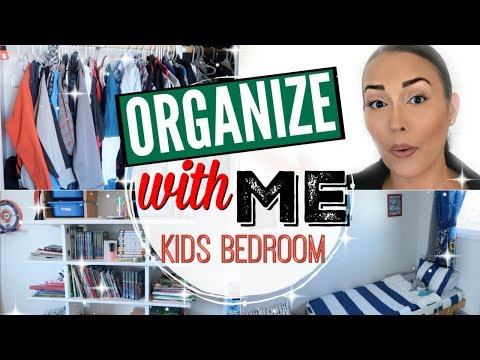 😚CLEAN WITH ME 2018 ● KIDS BEDROOM MAKEOVER ● SIMPLE BEDROOM ORGANIZATION ● ORGANIZE WITH ME BEDDYS