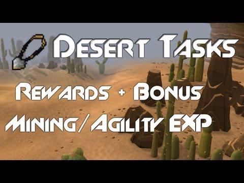 Desert Amulet | Cosmetic Desert Items | Bonus Mining/Agility exp