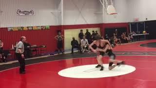 Wrestling- Brooks vs Channahon 1/23/18