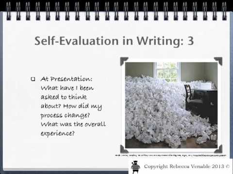 Self-Evaluation: Writing