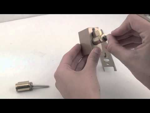 Replacing the Cylinder in a Pella Sliding Door Lock (Manufactured 1967-1990)