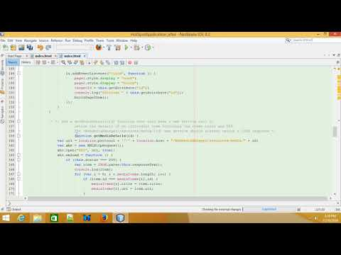 Java EE 7 Web Development: Calling RESTful Services from JavaScript