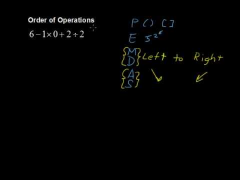 What are the Orders of Operations? - Math Help