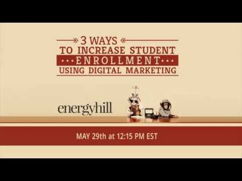 3 ways to increase student enrollment using digital marketing