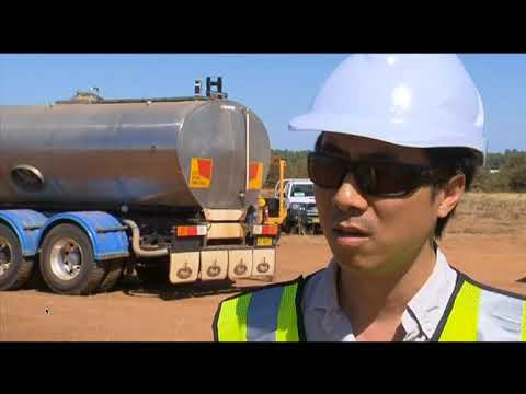 Vermeer PD10 solar pile drivers on Dubbo Solar Hub development, Narromine, Australia