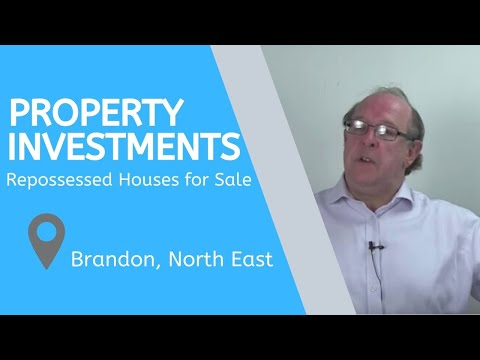Property Investments in Brandon, North East – Repossessed Houses for Sale Brandon, North East