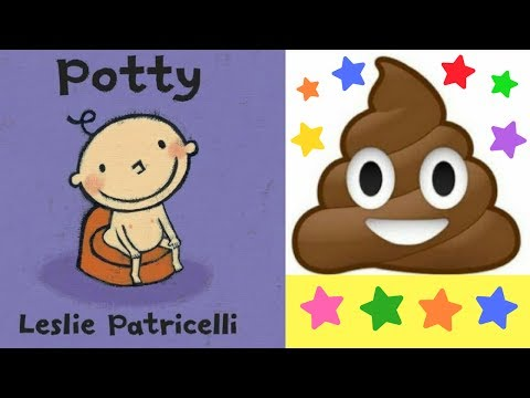 Potty Book by Leslie Patricelli - Stories for Kids - Children's Books