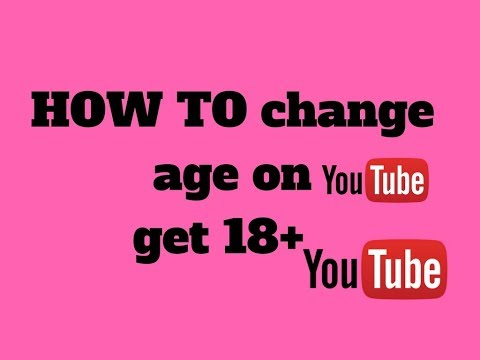 how to change age get restricted videos/youtube monitizeation (2018)