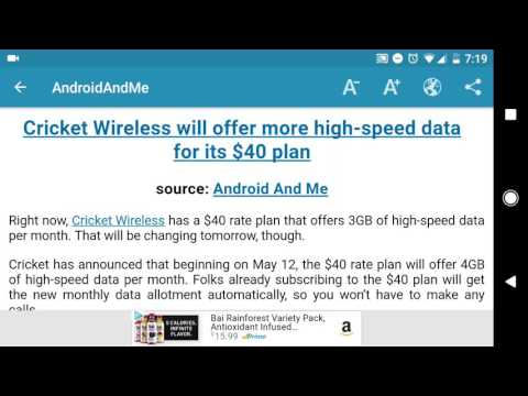 Cricket Wireless sweetening their deal