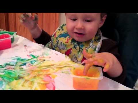 Owens Edible Finger Painting