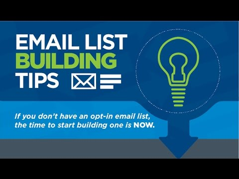 how to build an email list with facebook free and fast