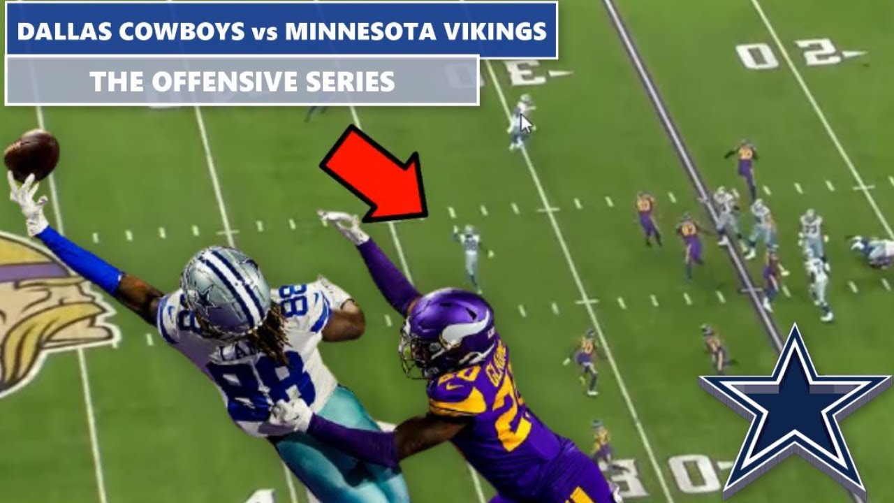 ✭ My Observations of The Dallas Cowboys Offense vs The Minnesota Vikings 2020
