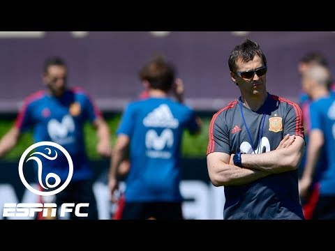 Why did Spain fire coach just days before start of 2018 World Cup? | Pardon The Interruption | ESPN