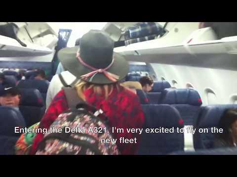 FULL Flight Report-Delta A321 Economy comfort Orlando to Atlanta