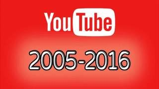 YouTube Layout Changes History 2005 - 2016