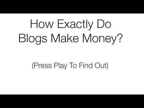 How Exactly Do Blogs Make Money? (Virtual Tour)