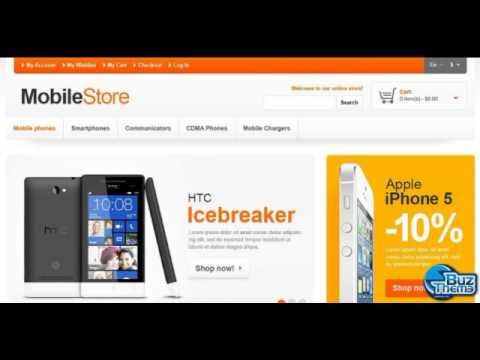 Tutorial Responsive Mobile Store Magento Theme by Buztheme.com
