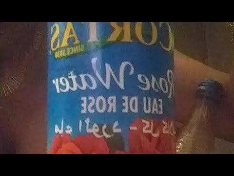 Arabic Rose Water Sugar Jar