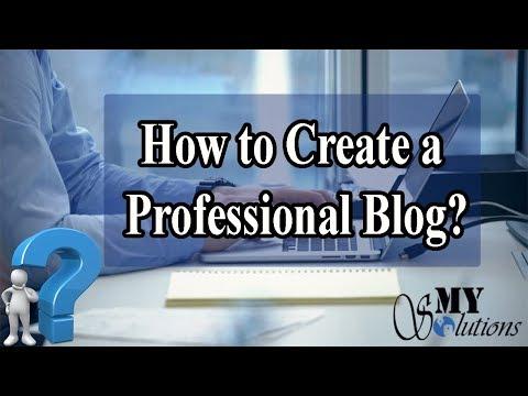How to Create a Professional Looking Blog Free Tutorial Urdu/Hindi