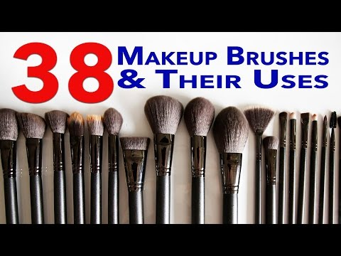 Ultimate Makeup Brushes Guide! 38 Makeup Brushes and Their Uses