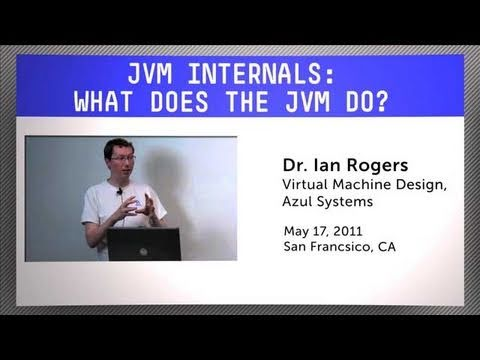 Learn about JVM internals - what does the JVM do?