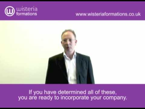 Company Formation - Setting up a Private Limited Company (LTD) - (Part 3 of 7)