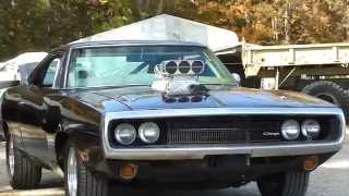 FAST AND FURIOUS BLACK BLOWN CHARGER CHARGING THE CAMERA AND RIDE BY  DAMN!!