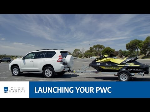 How to launch your Personal Water Craft