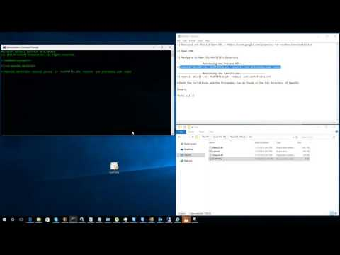 Retrieving the Private key and Certificate from a PFX