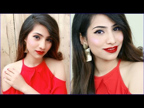 Makeup for Beginners - In 5 Mins Using 5 Products Only | Anaysa