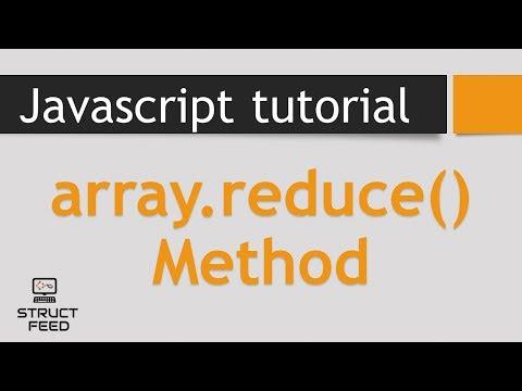 Reduce Method in JavaScript Arrays