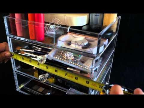 Acrylic Makeup Organizer $65