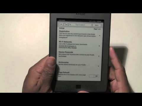 Kindle Touch: How to Reset to Default Settings​​​ | H2TechVideos​​​