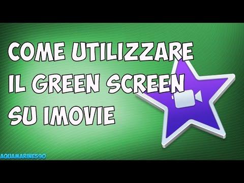 Tutorial - Come utilizzare il Green Screen su iMovie 10.1 (Keyer)