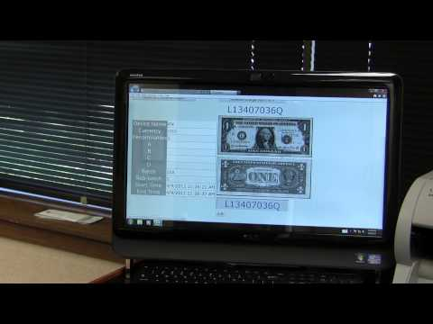 JetScan iFX Scanner Counting Mixed Currency with Serial Number Capture and IMS
