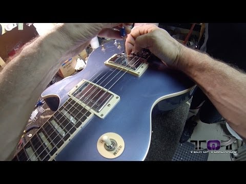 Evertune Bridge: Never Tune Your Guitar Again (Installed on a Les Paul)