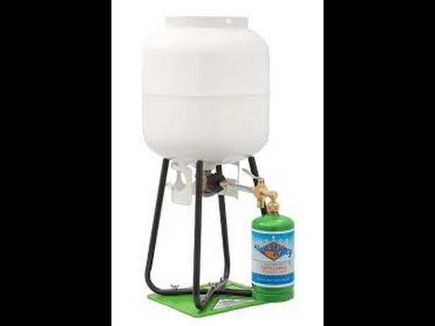 (Flame King) Refilling 1lb Propane Tanks