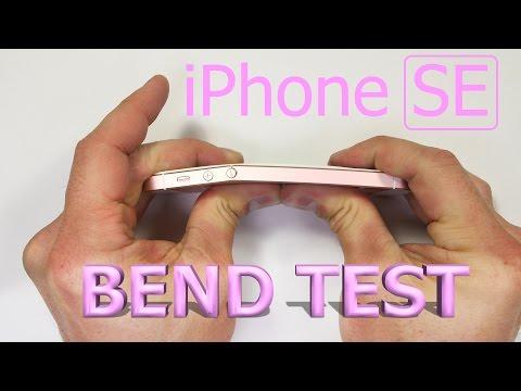 NEW iPhone SE - Bend Test - Scratch Test - Burn Test