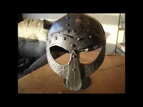 How to make a Viking helmet cheap as chips!