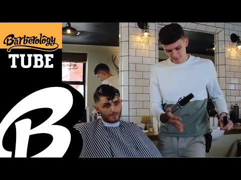The Crop With A fade + Using Tunnel Drying - #BarberologyTUBE