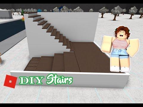ROBLOX │Bloxburg - DIY / Tutorial Stairs