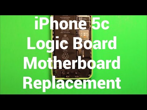 iPhone 5c Logic Board Motherboard Replacement How To Change