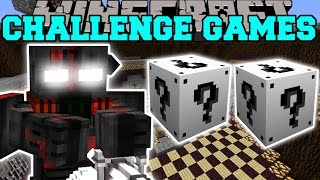 Minecraft: OUTCAST CHALLENGE GAMES - Lucky Block Mod - Modded Mini-Game